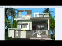 House Front Wall Design, House Main Gates Design, Single Floor House Design, House Outside Design, Village House Design, Bungalow House Design, Small House Design, Modern House Design, Front Design
