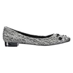 Sparkle and shine in our embellished ballet flats.