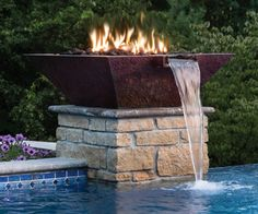 Bobe Copper Fire Water Bowl Water And Fire Bowls