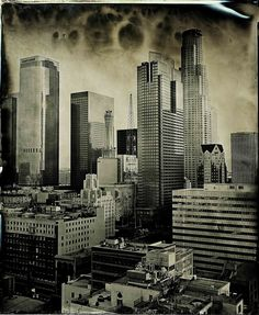 Wet plate collodion / Downtown Los Angeles by Ian Ruhter