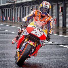 #MasterTheRain.  @26_danipedrosa  #DaniPedrosa #RedGhostOnline #MotoGP #DP26…