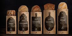Упаковки для производителя хлеба Bakehuset.