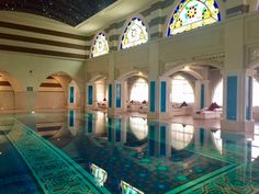 The ultimate spa sensory journey at Talise Ottoman Spa / Turkish Bath Hammam / Talise Ottoman Spa is so the right spot for a royal spa sensory journey! Turkish Bath, Ottoman, Spa, Journey, Mansions, House Styles, Steam Room, Manor Houses, Villas