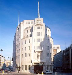 BBC Broadcasting House  Portland Place, London, W1A 1AA    Architect: George Val Myer, 1930-32
