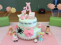 Mother Goose Nursery Rhyme Cake  I made this cake for my great granddaughters baby shower.