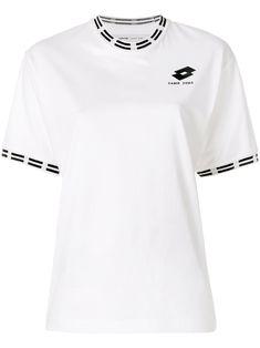 Damir Doma Logo Trim T-shirt Damir Doma, Cotton Logo, Short Sleeves, Mens Tops, T Shirt, Shopping, Clothes, Collection, Style