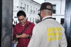 Desde hace un año la empresa Seguridad del Cauca Limitada, es la que presta el servicio de vigilancia complementario en la Universidad del Cauca. / Fotos Dairo Ortega- El Nuevo Liberal.