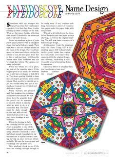 Arts and Activities Kaleidoscopes