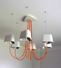 Design Heure - Nuage Collection - Lustres 6 Petits Nuages