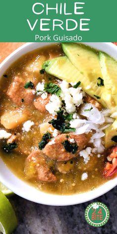 Pork Chile Verde Mexican Pork Stew