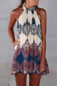 Perfect dress is safely tucked into your luggage! #dress #boho #maykool