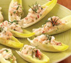 Endive, Recipe Salad, Shrimp Salad Recipe, Salad Stuffed, Salad