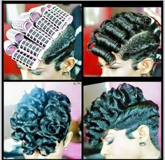Step by step tutorial for ladies with natural / relaxed hair Love Hair, Great Hair, Gorgeous Hair, Curly Hair Styles, Natural Hair Styles, Ponytail Styles, Hair Ponytail, Twisted Hair, Sassy Hair