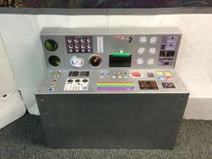 DIY control panel for kids Camp Scout, Gadgets And Gizmos Vbs, Space Projects, Space Crafts, Maker Fun Factory Vbs, Space Preschool, Space Classroom, Destination Imagination, Outer Space Party
