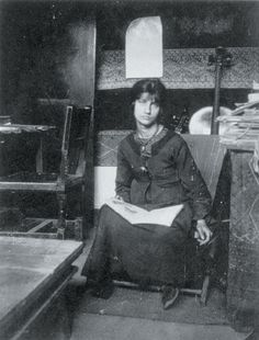 Jeanne Hébuterne, muse and common law wife of Amadeo Modigliani, c 1919