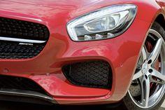 Mercedes AMG Fire Opal