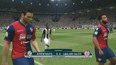 Juventus vs Cagliari | Serie A | Juventus Stadium | Debut Douglas Costa ...