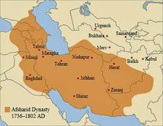 Iran Politics Club: Iran Historical Maps 9: Safavid Persian Empire, Ottoman Empire, Afsharids, Zands
