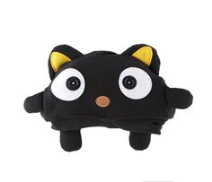 Part hoodie, part friend - open and unroll this Chococat plush to reveal the cuddly sweatshirt with hood in the shape of the Chococat.