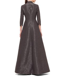 Shop women's evening gowns at Neiman Marcus. Get ready for your big night with these stunning floor length gowns in a variety of designs. Formal Gowns With Sleeves, Mother Of Groom Dresses, Classic Skirts, Floor Length Gown, Women's Evening Dresses, Fitted Bodice, Fashion Dresses, Hijab Fashion, Dresses For Work
