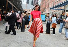 New York Fashion Week S/S 2018 Street Style (Part II) – FaShionFReaks