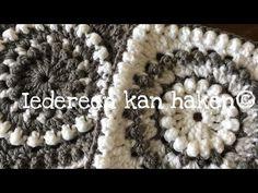 Circle of friends Granny Square Crochet Pattern, Crochet Squares, Crochet Granny, Crochet Patterns, Thread Crochet, Love Crochet, Crochet Hats, Granny Square Häkelanleitung, Manta Crochet