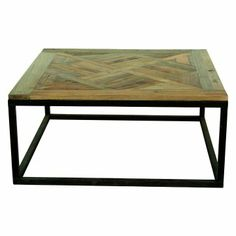 Worlds Awayquadro Gold Leaf Square Coffee Table 18 H X 37 W D Hammered Umber 2 Tier With Beveled Gl Products