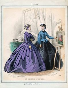 ABITI STORICI FEMMINILI 1860