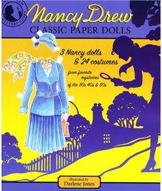 Nancy Drew paper dolls.