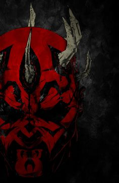 Epic Darth Maul <3 Gonna print this out and put it on my wall