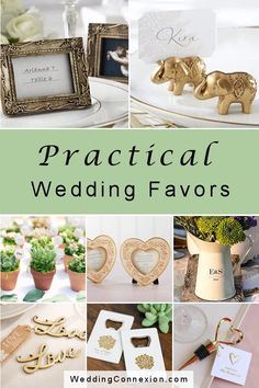 Practical wedding favors make for gifts that guests won't leave on the table or throw in the trash after your event. Visit us for ideas! Summer Wedding Favors, Elegant Wedding Favors, Wedding Favors For Guests, Unique Weddings, Wine Bottle Favors, Wedding Blog, Destination Wedding, Edible Favors, Personalized Favors