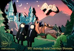 Have you ever wanted to star in your own scenes alongside your favorite Harry Potter characters? Harry Potter Wish List's beautiful paper craft diorama allows you to do just that! Whether you're a grown-up witch or wizard who remembers creating shoebox scenes years ago, or a current student who needs a fun summer project, this …