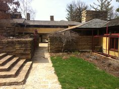 Taliesin East. Frank Lloyd Wright home and Studio. South of Spring Green, Wisconsin. 1911. 1914, 1925 (Remodels and expansions after fires)