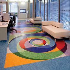 Flexible floor tiles/sheets: Tarkett Linoleum XF (Tarkett)