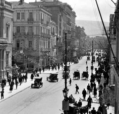 Vintage Pictures, Old Pictures, Old Photos, Greece History, Greece Pictures, Greece Photography, Greek Isles, Athens Greece, The Past