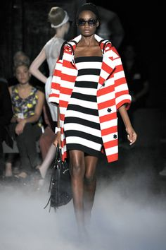 stripes on stripes runway fashion | Keep the Glamour | BeStayBeautiful