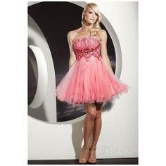 Vestidos de 15 años cortos|15 años Novias Lenceria Moda Belleza via Polyvore