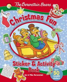 The Berenstain Bears Christmas Fun Sticker & Activity Book is a delightful way to keep children occupied with fun activities, while teaching them the true meaning of Christmas. Christmas Eve Service, Christmas Events, Christmas Party Games, Christmas Books, Christmas Activities, Christmas Fun, Holiday Fun, Activities For Kids, Activity Ideas