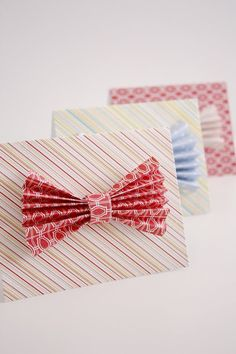 DIY Gifts : Scratch Off Bow Tie Father's Day Card delia creates Creative Gift Wrapping, Creative Cards, Creative Gifts, Wrapping Ideas, How To Make A Gift Bag, Kids Craft Box, Showers Of Blessing, Best Dad Gifts, Dad Day