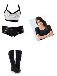 Brie Bella Inspired Attire by lavonne-lily-kate-1 on Polyvore featuring WWE, ringAttire and BRIEMODE