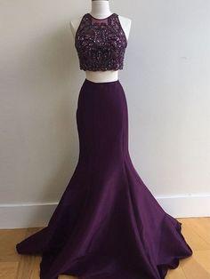 prom dresses long, A-line Spaghetti Straps Floor-length Tulle Prom Dress/Evening Dress #MK089