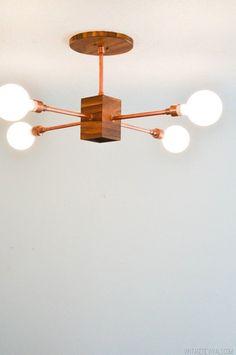 12 Lighting DIYs that Look Like a Million Bucks   Apartment Therapy