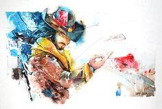 Twisted Fate - League of legends by Abstractmusiq.deviantart.com on @deviantART