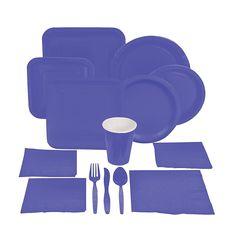 Purple Tableware - OrientalTrading.com