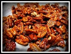 Sinless candied pecans