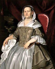 1758 John Singleton Copley (American colonial era artist, 1738-1815) Mary Alleyne Mrs James Otis