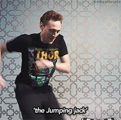 Because Tom Hiddleston danced for us. In his pajamas. In bed. | 51 Reasons 2013 Was The Best Year Ever To Be A Nerd