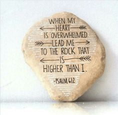 God is our ROCK! Amen!