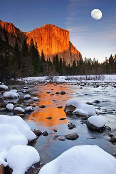 Discover the wild beauty of Yosemite National Park during wintertime, when crowds are fewer and the majestic natural attractions are blanketed in snow and ice!