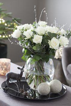 Få det lekkert med avskårne blomster til jul | Inspirasjon fra Mester Grønn